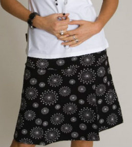 Skirt Flake Black